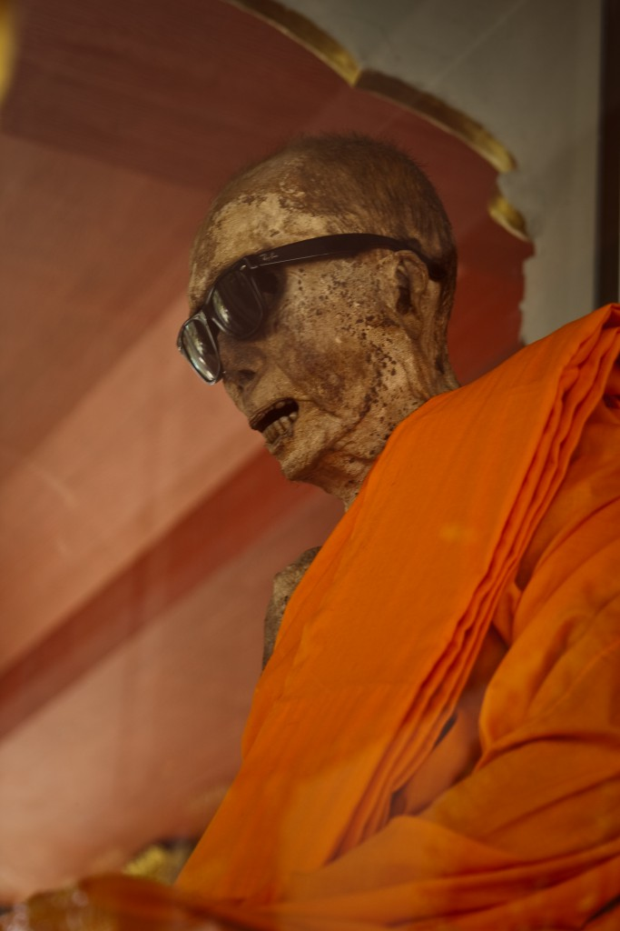 Mumifizierter Mönch